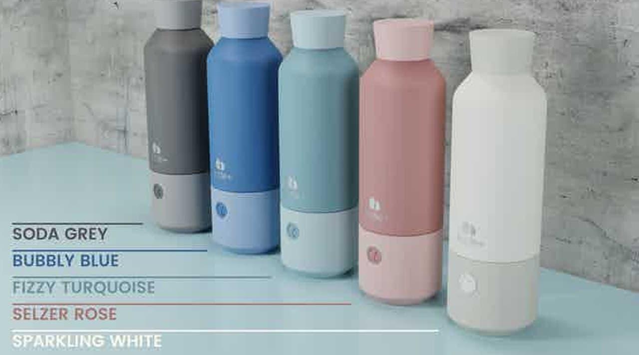 ポータブル炭酸水メーカー「Bottle+」