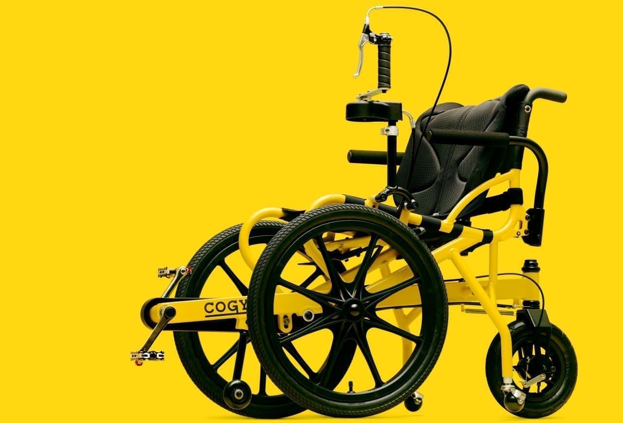 足こぎ車いす「COGY」自転車販売店ダイシャリンで販売開始 自転車で培ったノウハウをリハビリ支援に活用