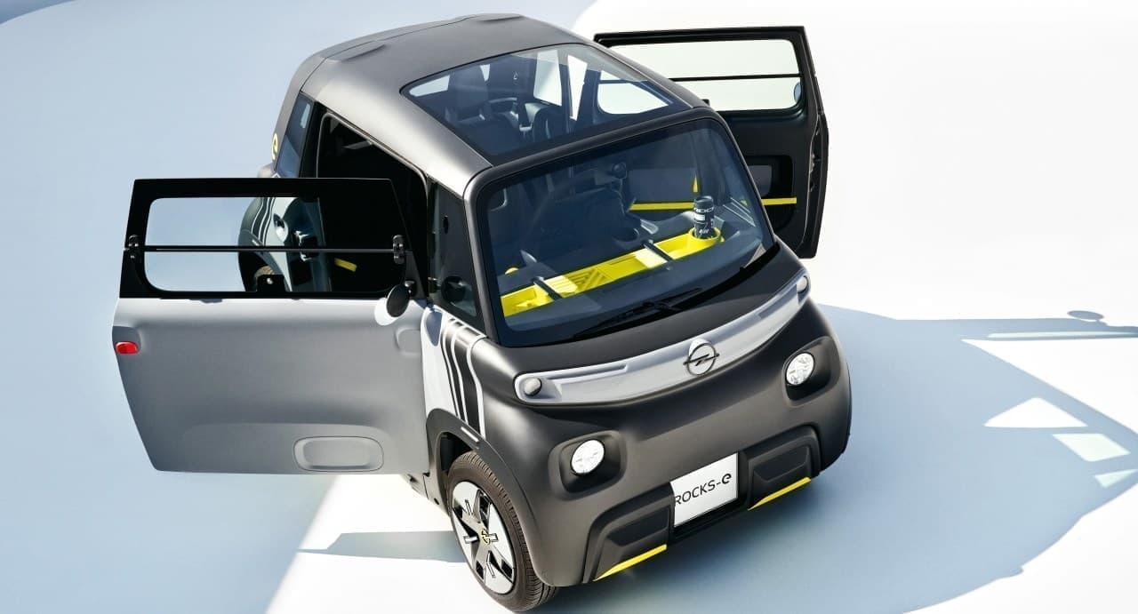 オペルが超小型EV「Rocks-e」を発表