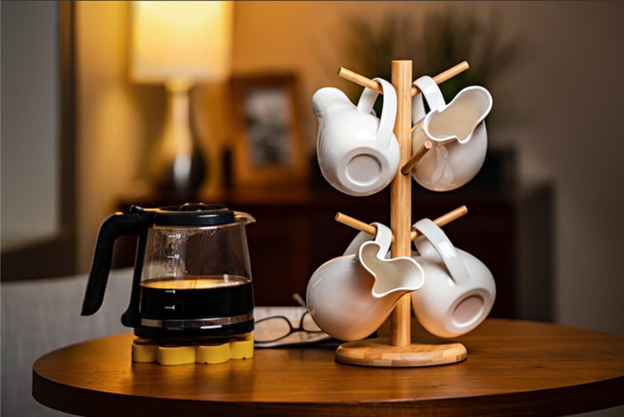 コーヒーがこぼれないマグカップ ソファーでリラックスしながら飲める「RELAXX MUG」