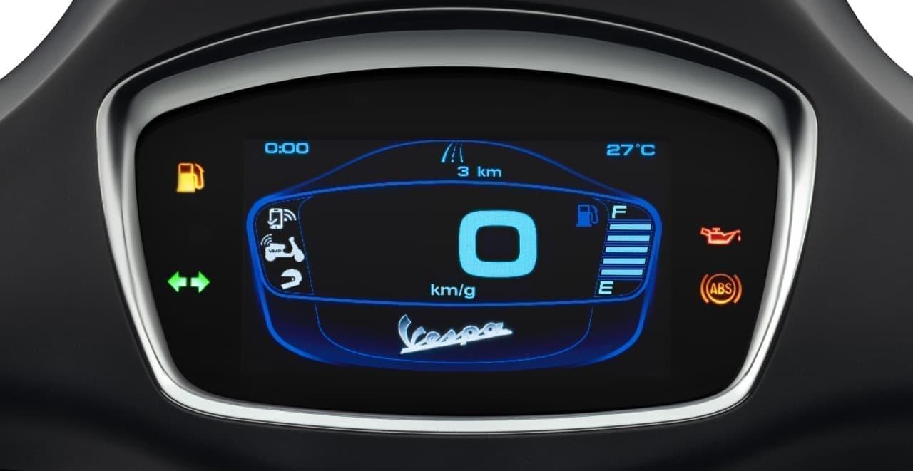「Vespa Sprint S 150」に特別仕様車「TFTエディション」