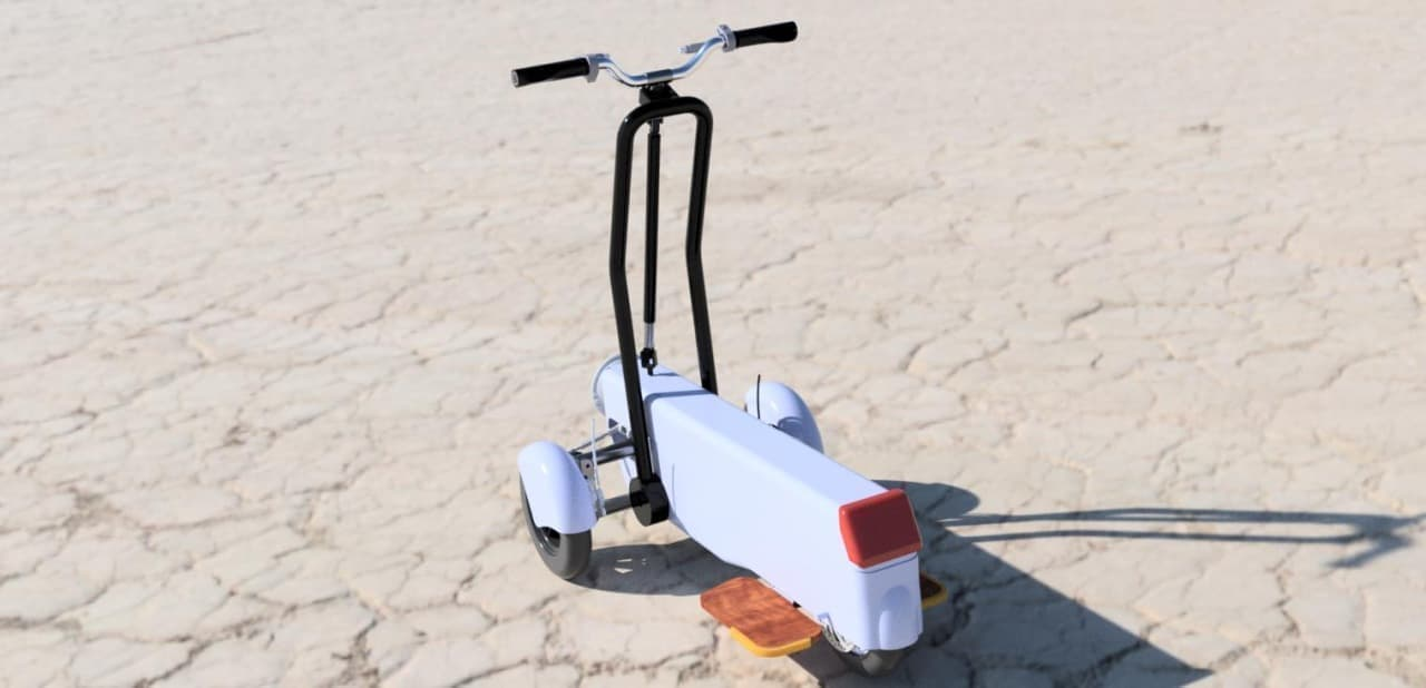 公道を走れる電動キックボード「Sunameri」のフヂエンが国産新型電動キックボードの開発に向けて出資者を募集中