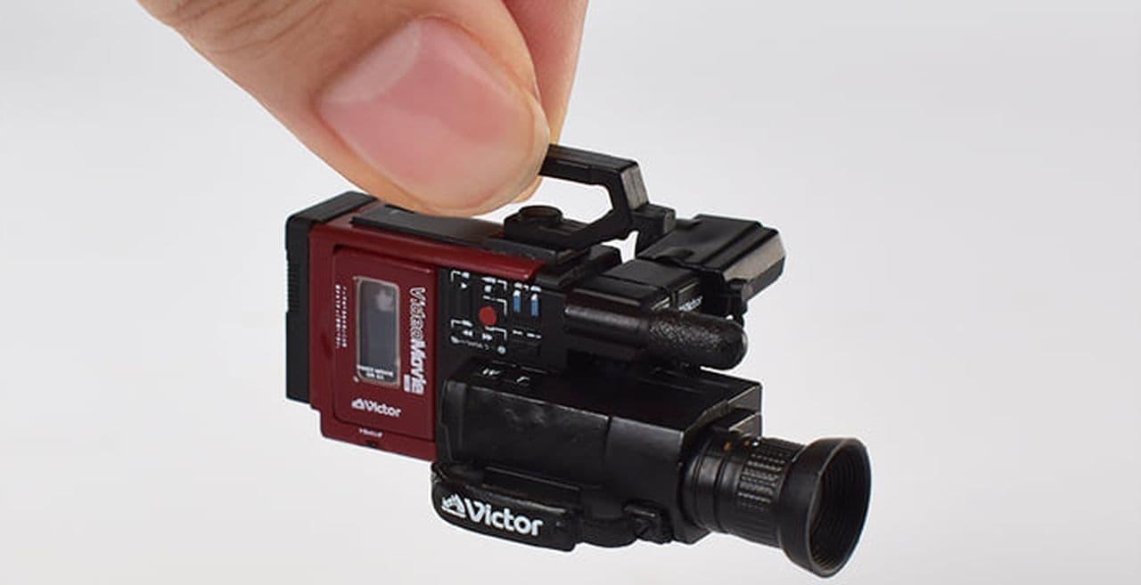 昭和家電をフィギュアで! 1970-80年代のVictors製品カプセルトイ5種発売