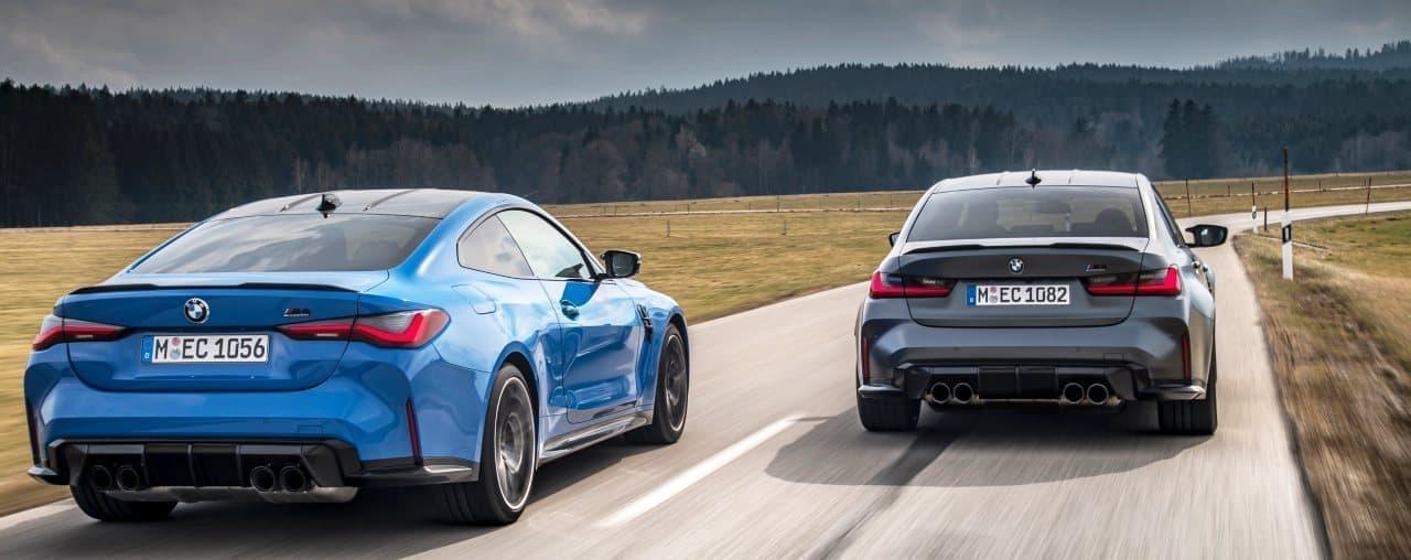「BMW M3セダン」「BMW M4クーペ」に4駆モデル「Competition M xDrive」
