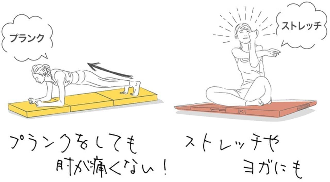 コロナ太りを解消 自宅で簡単に運動できるトランポリンマット Makuakeに登場