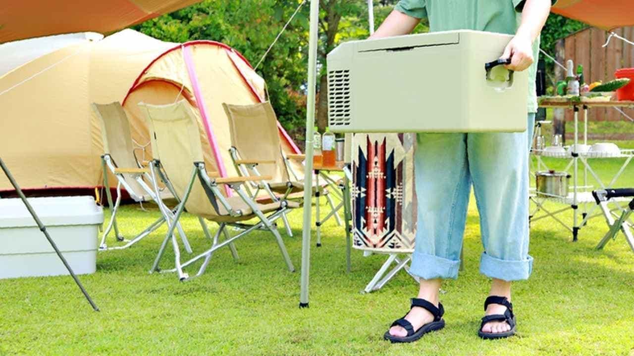 キャンプ用冷凍冷蔵庫「Pacificool 21モデル」Makuakeに登場
