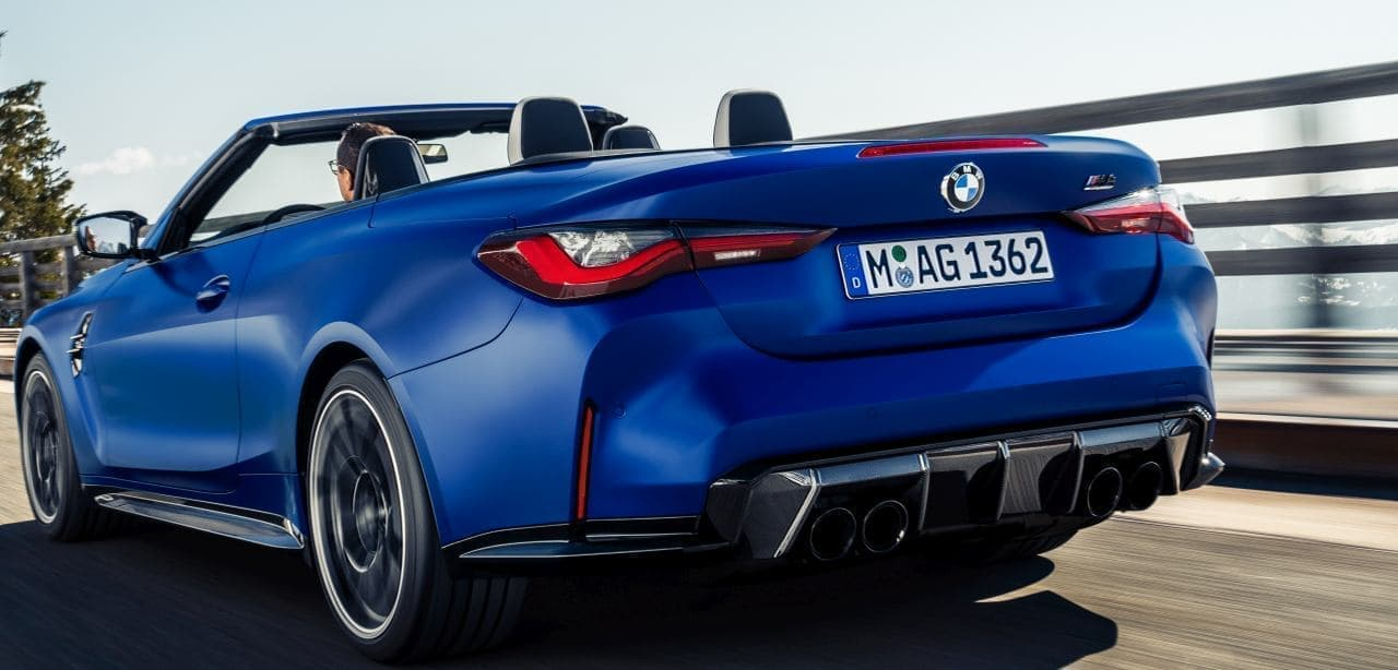 BMW「M4」のラインアップに オープン・エアの「M4 Cabriolet Competition M xDrive」