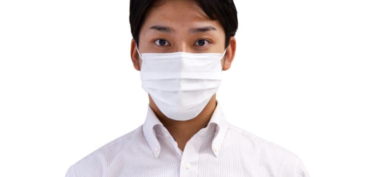 イータックを使用した不織布マスク「Etak不織布マスク」発売 特定のウイルスの数を減少