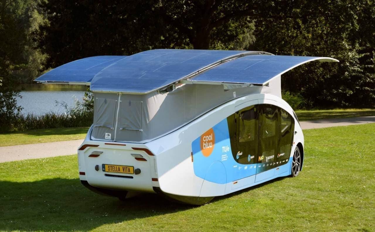テレビの視聴やラップトップの充電、それにコーヒーを沸かすことすべてを太陽エネルギーで