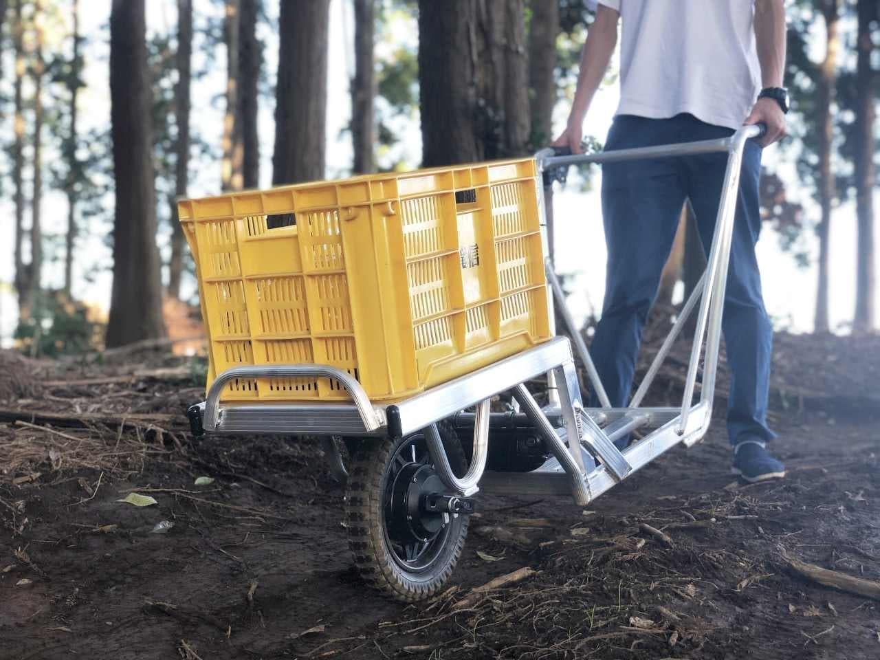 ネコを電動化!「E-Catコンプリートパッケージ」販売開始 農作業などでの運搬作業を軽労化