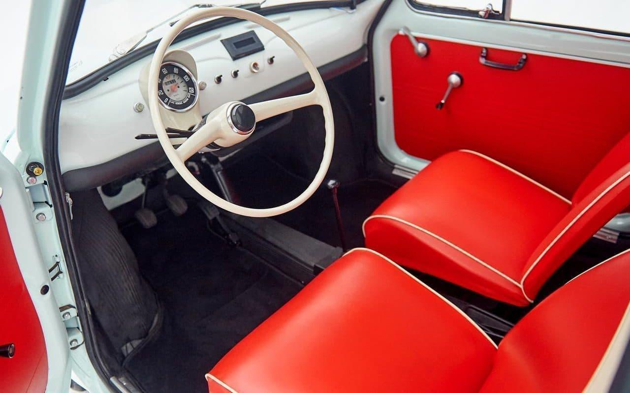 旧車のチンクエチェントをEV化した「FIAT 500ev」より進化したプロダクトモデル第1号完成 - チンクエチェント博物館がプロデュース
