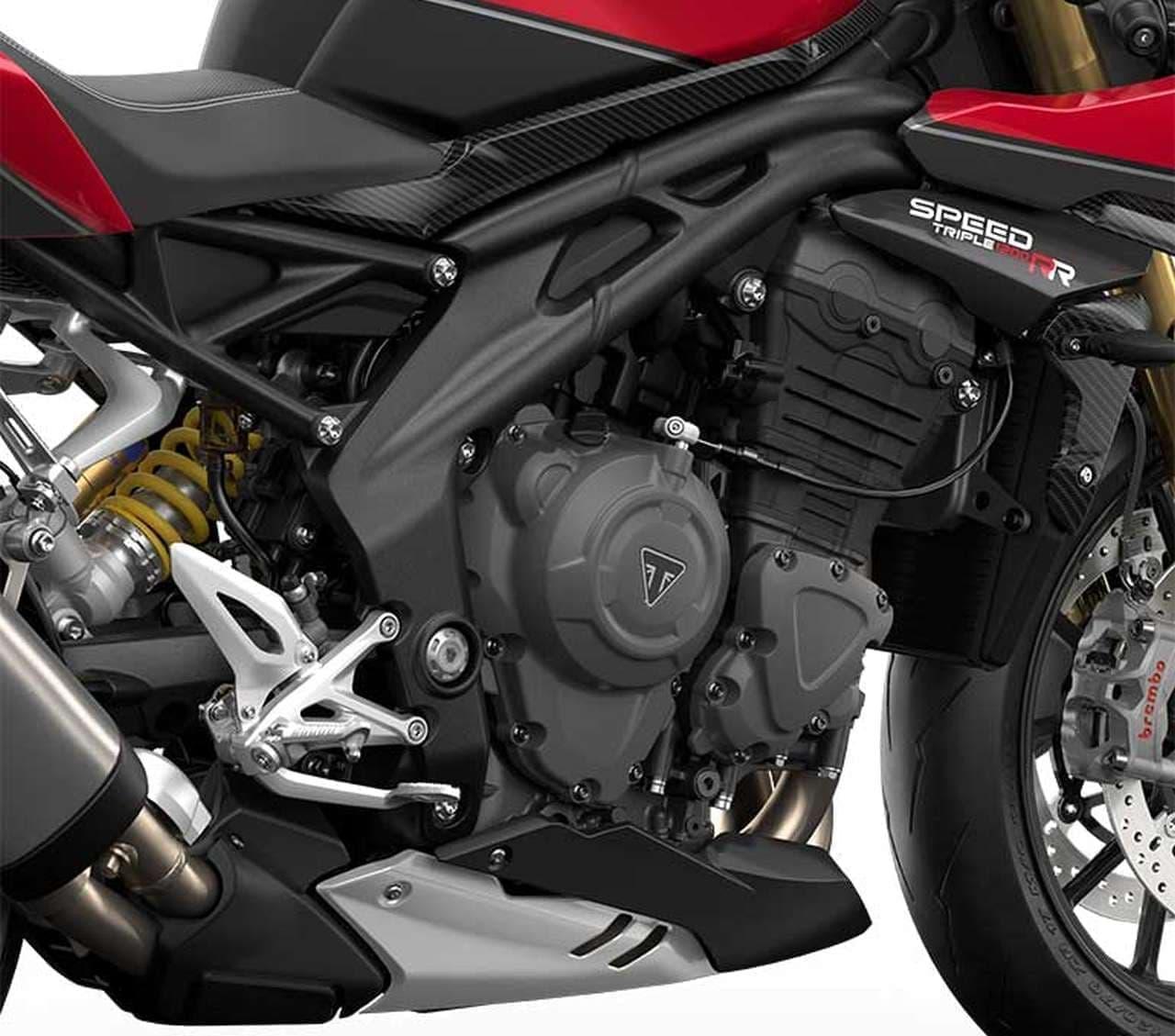 トライアンフ 新型「Speed Triple 1200 RR」発表