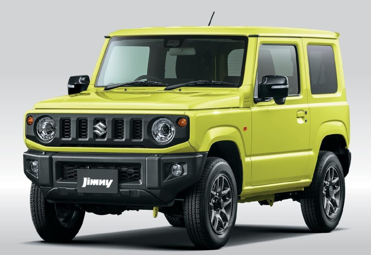 スズキ「ジムニー」「ジムニー シエラ」マイチェン - スズキ セーフティ サポート非装着車にもオートライトシステムを搭載