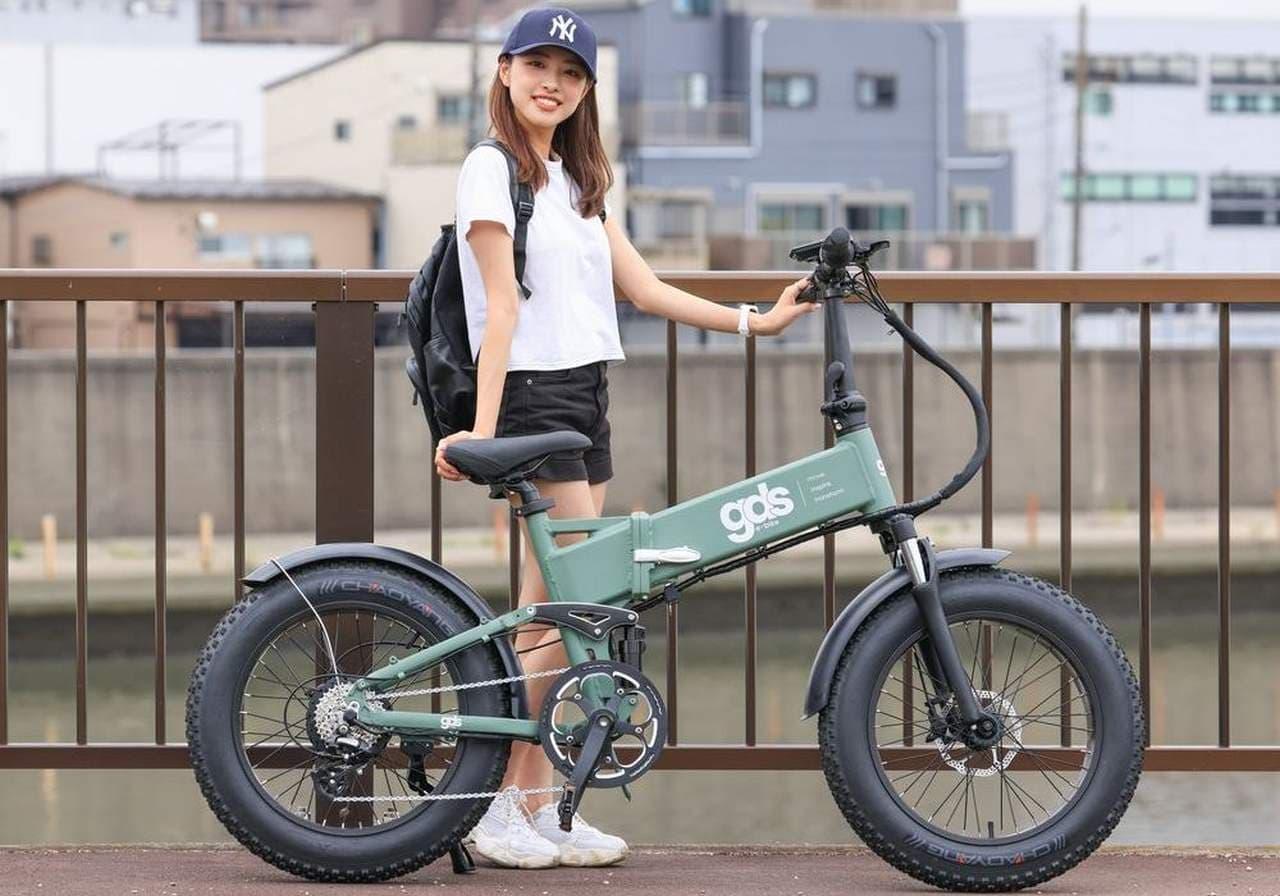 ファットタイヤを履いた電アシ「XPLORER」Makuakeに登場
