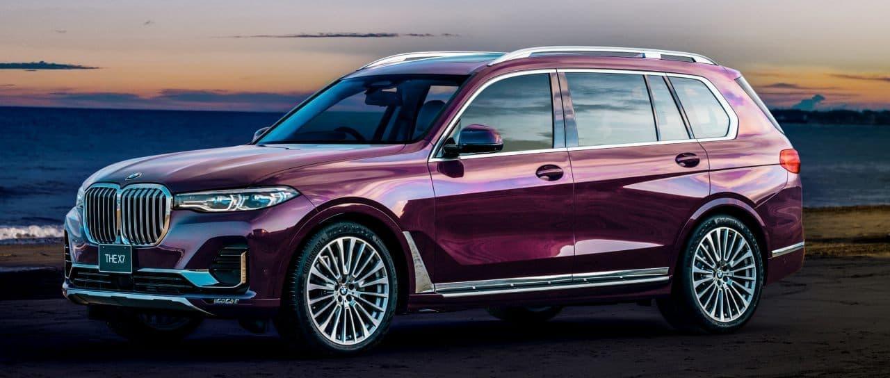 BMW「X7」に3台限定の「西陣エディション」 ― 西陣の色彩芸術をインテリアに採用