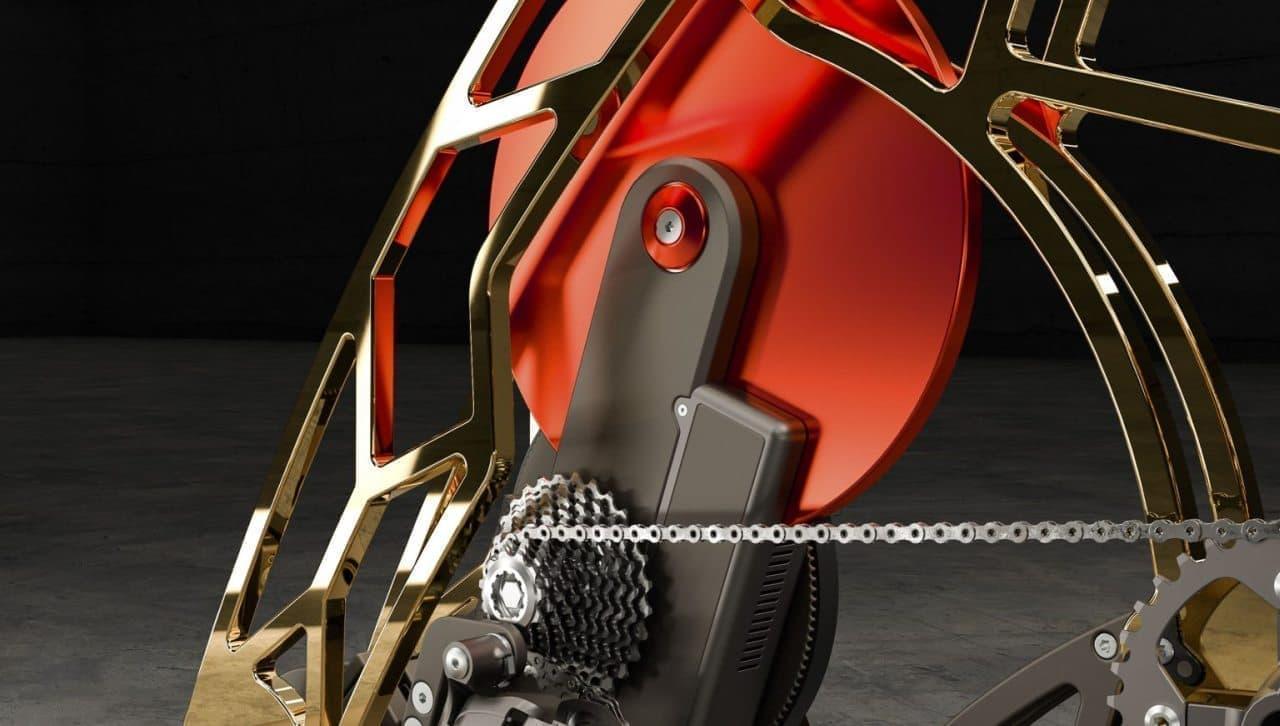 金ぴかエアロバイク!室内でのエクササイズをゴージャスなものにする「RoyalBees」