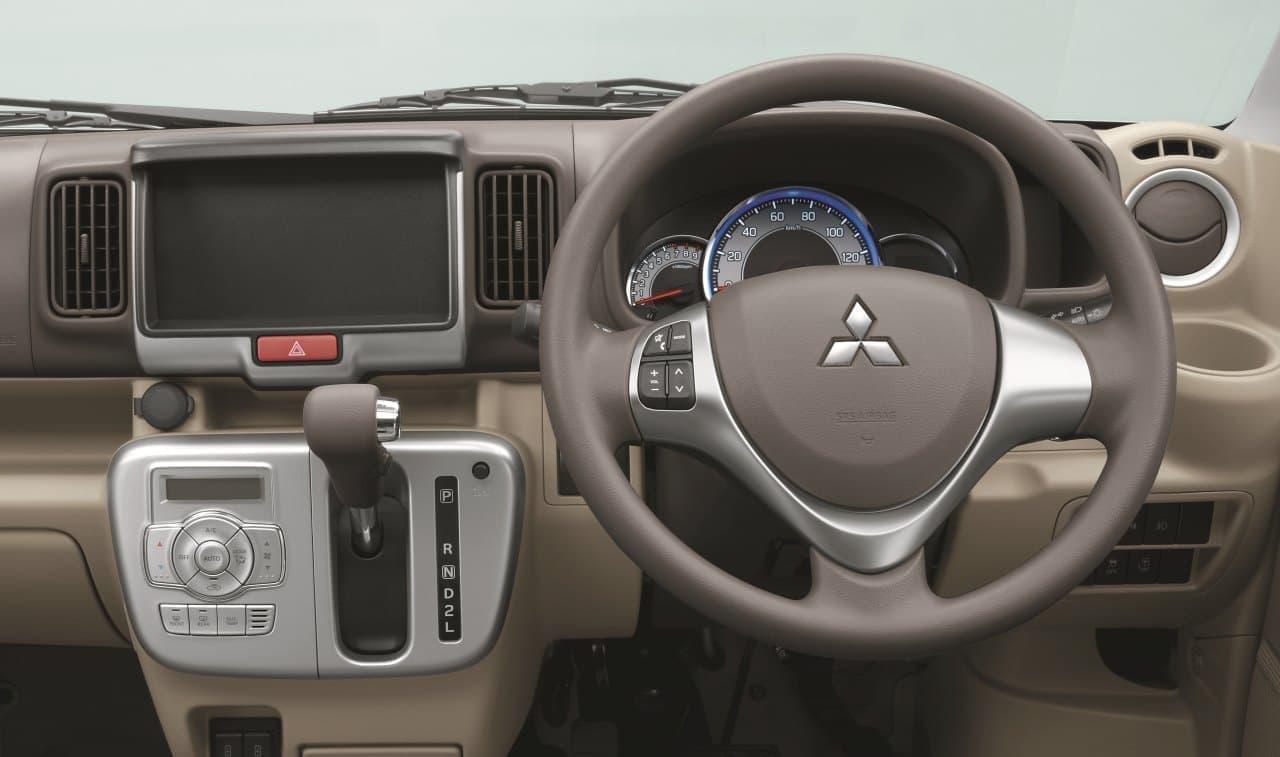 三菱「ミニキャブバン」「タウンボックス」一部改良 - 安全装備を充実