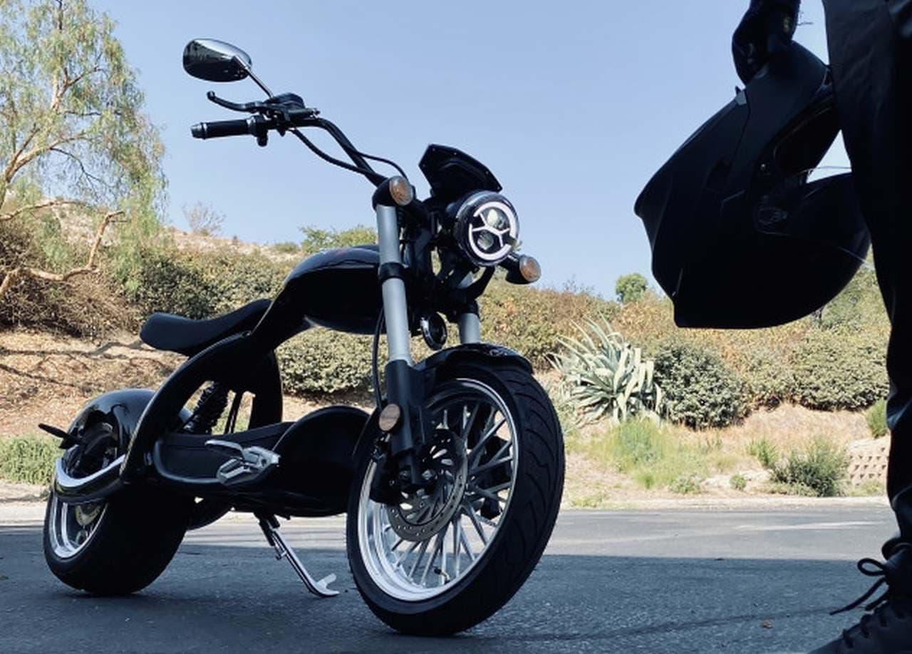 アメリカンチョッパースタイルの通勤用バイク「Buzzsaw Boss Hog Chopper」
