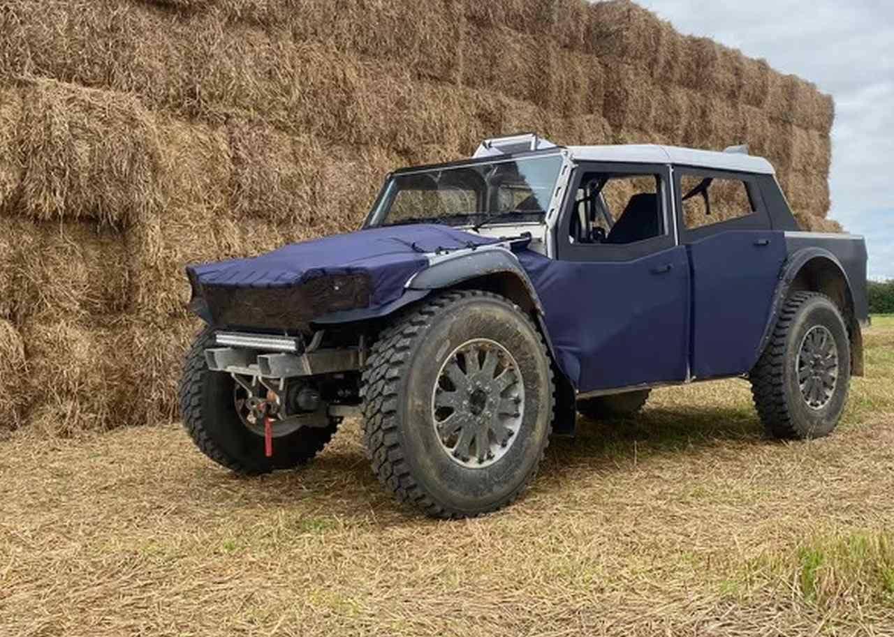 航続距離は7,000km! ローエミッションの四輪駆動車Fering「Pioneer」
