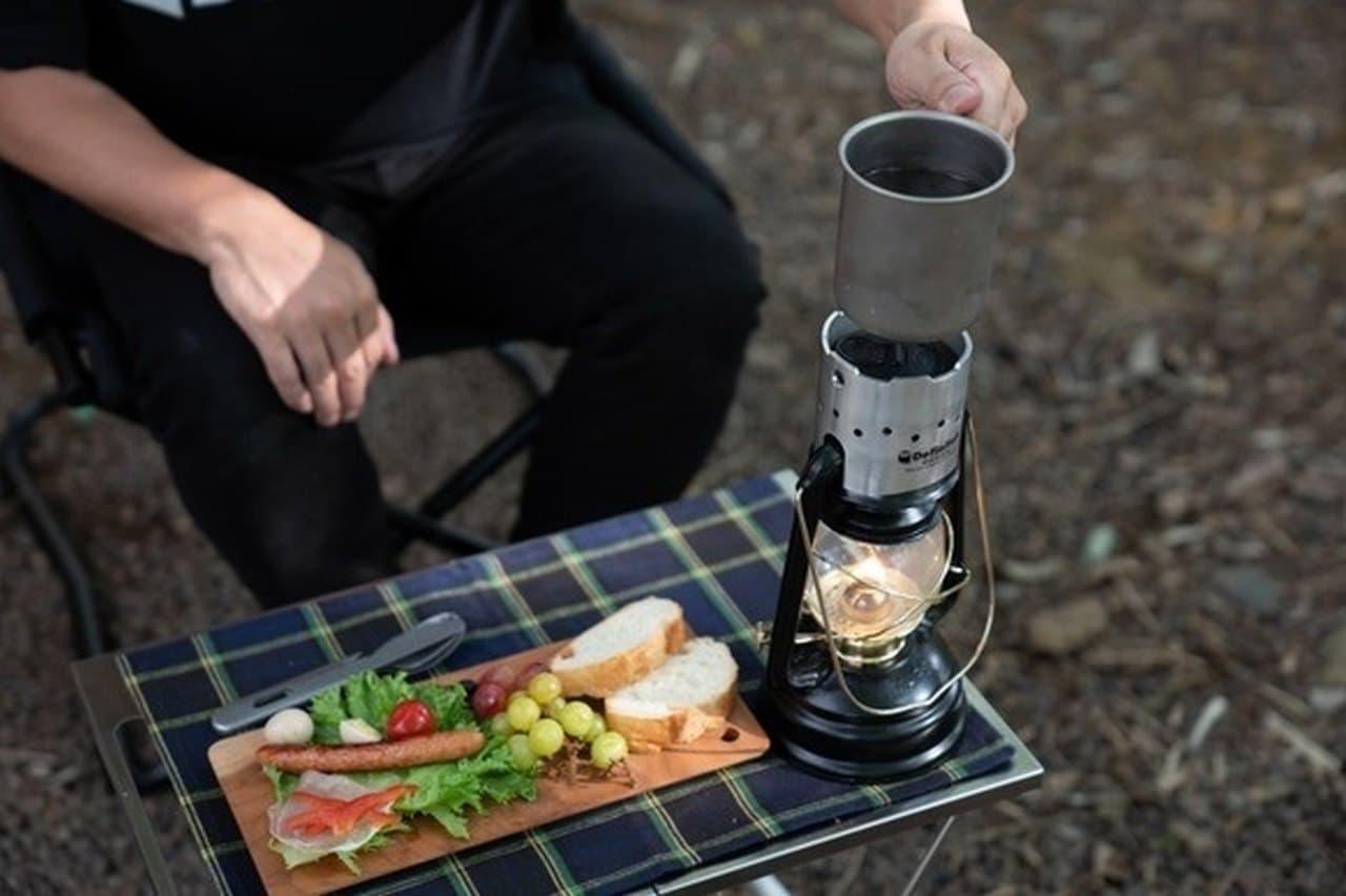 これは画期的では?ランタンを料理の保温に使う「WAMP」