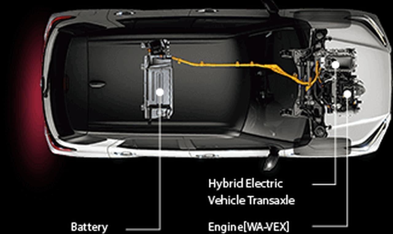 ダイハツのコンパクトSUV「ロッキー」にハイブリッドモデル