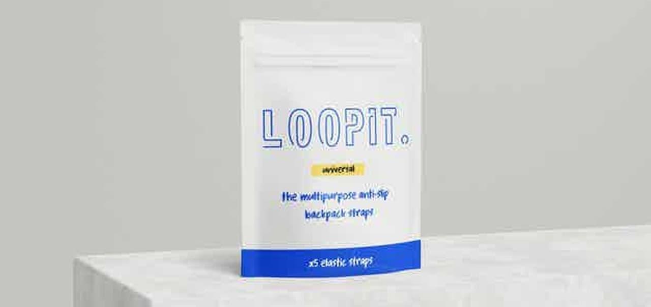 バックパックにもカップホルダーが欲しい! そんな夢をかなえるストラップ「LOOPIT」