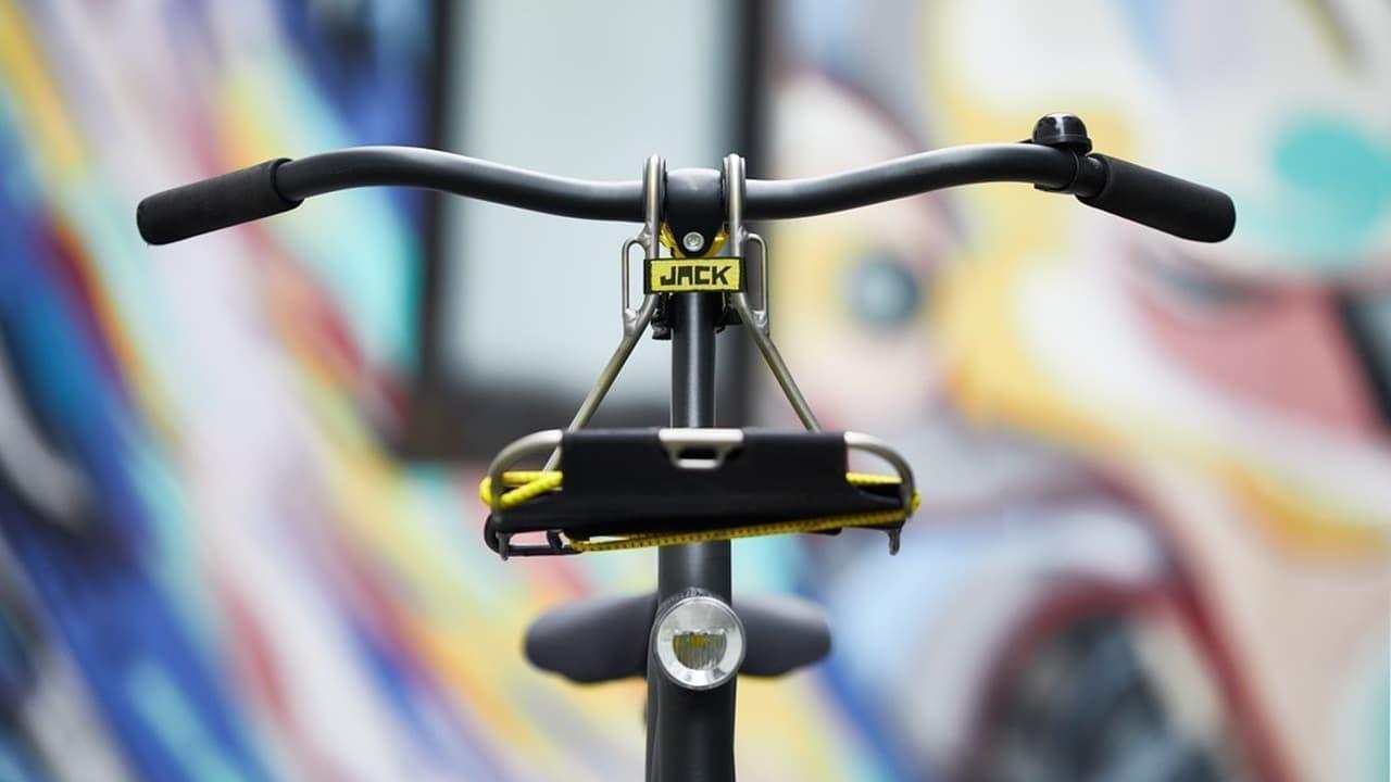 ほとんどの自転車に取り付けられるフロントラックJACK
