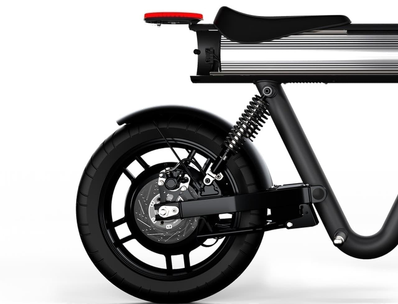 Sol Motorsが電動バイク「Pocket Rocket」のプリオーダーを開始