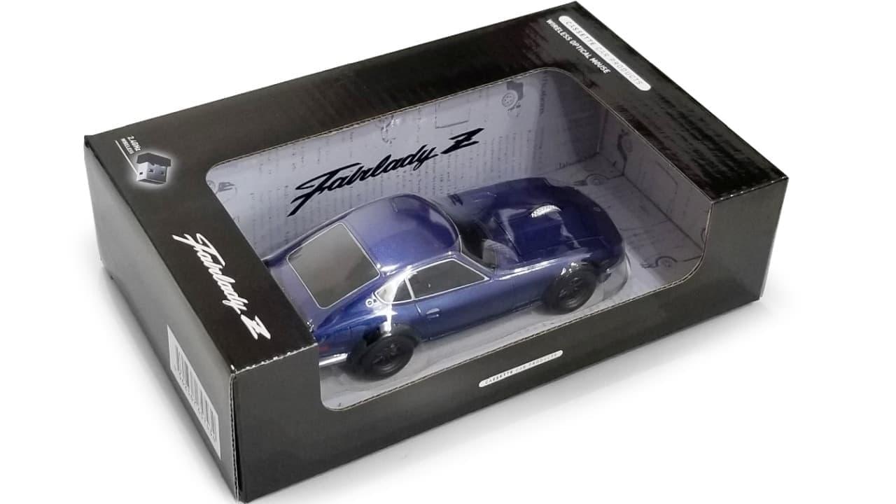 日産フェアレディ 240Z型の無線マウス再販開始