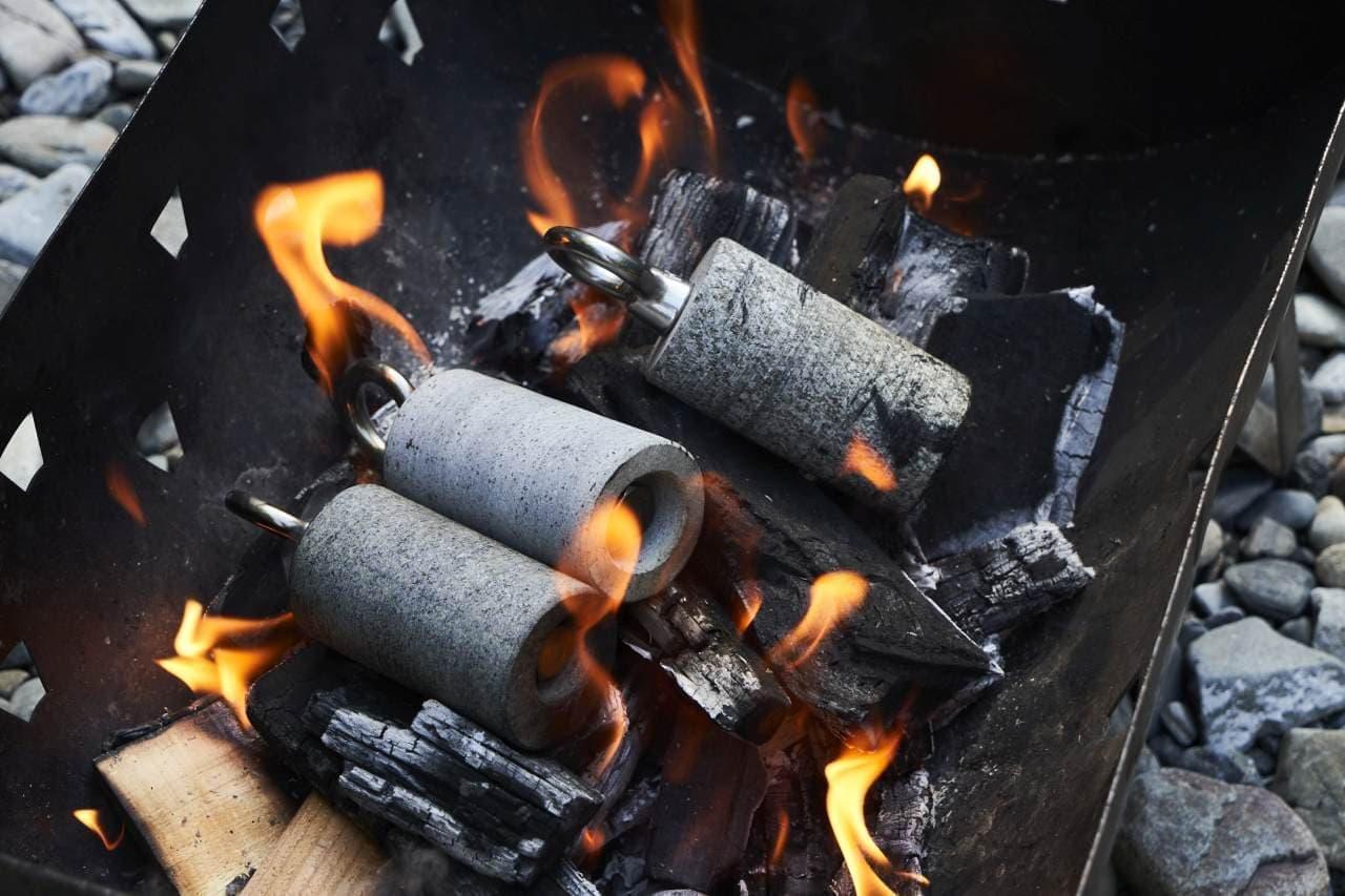 キャンプで足湯を楽しみたい 焚き火の熱を利用する「GR-New10」