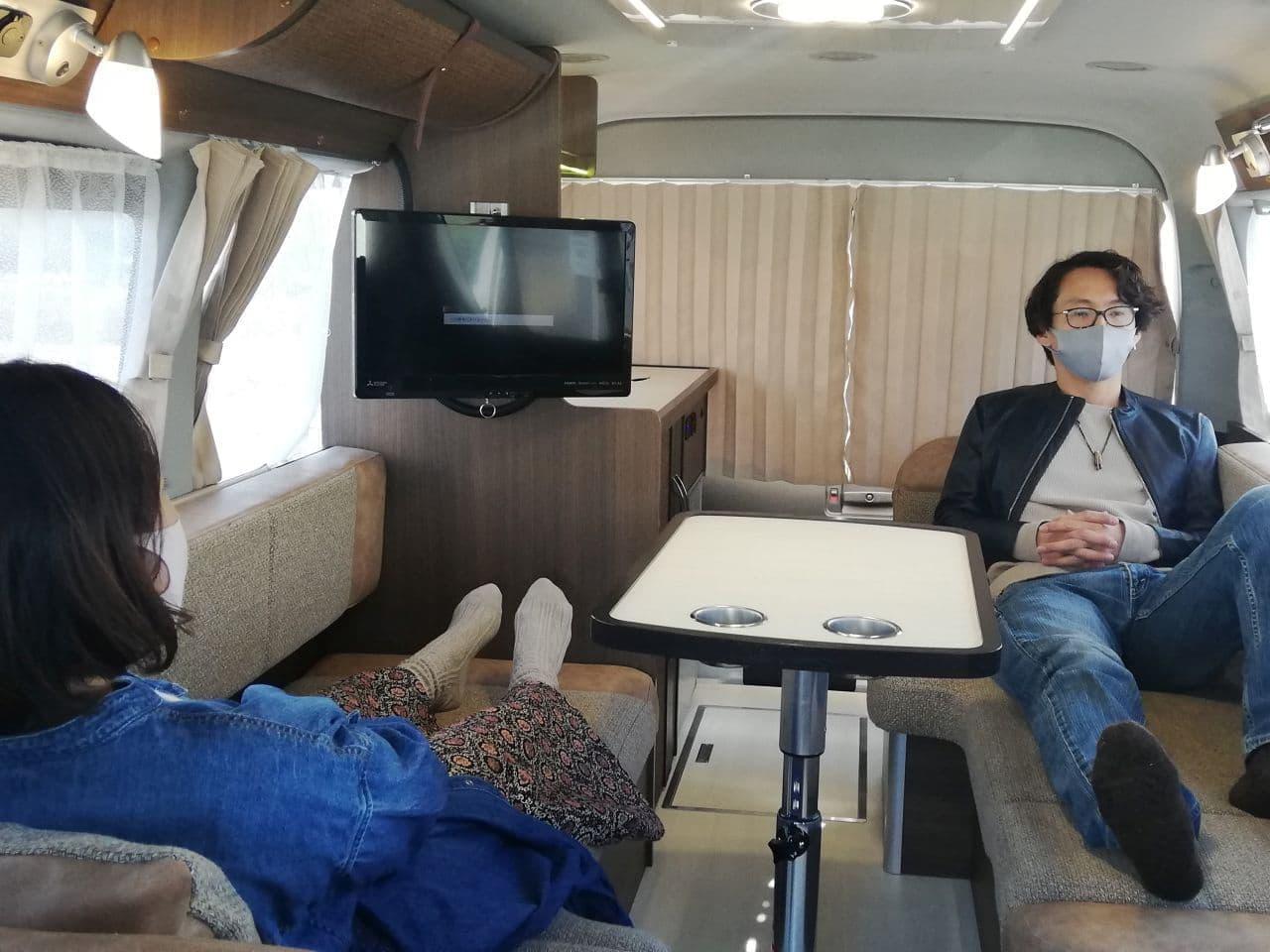 二人暮らしのキャンピングカー「レクビィ・プラスMR」に 名古屋人のための「キャンピングカーランド名古屋1周年車」