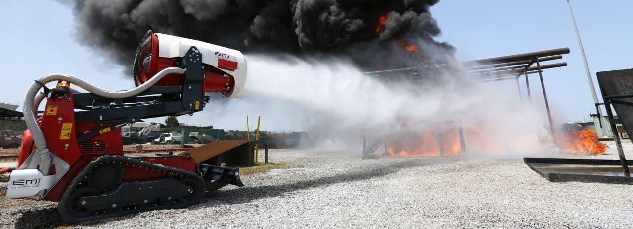 消火装置「エアコア」が「アートな乗り物」に登場