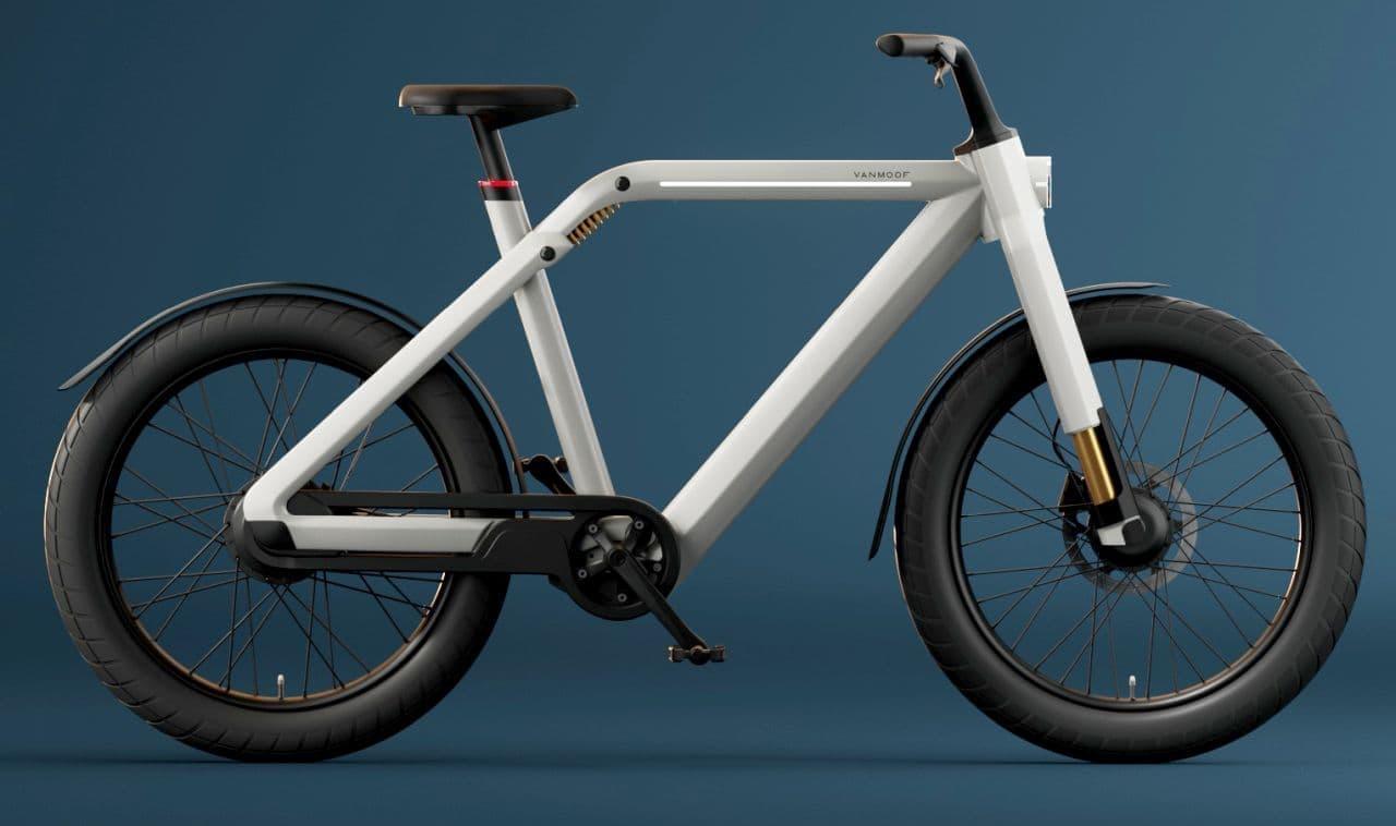 VanMoofから2輪駆動の電動バイク「VanMoof V」登場