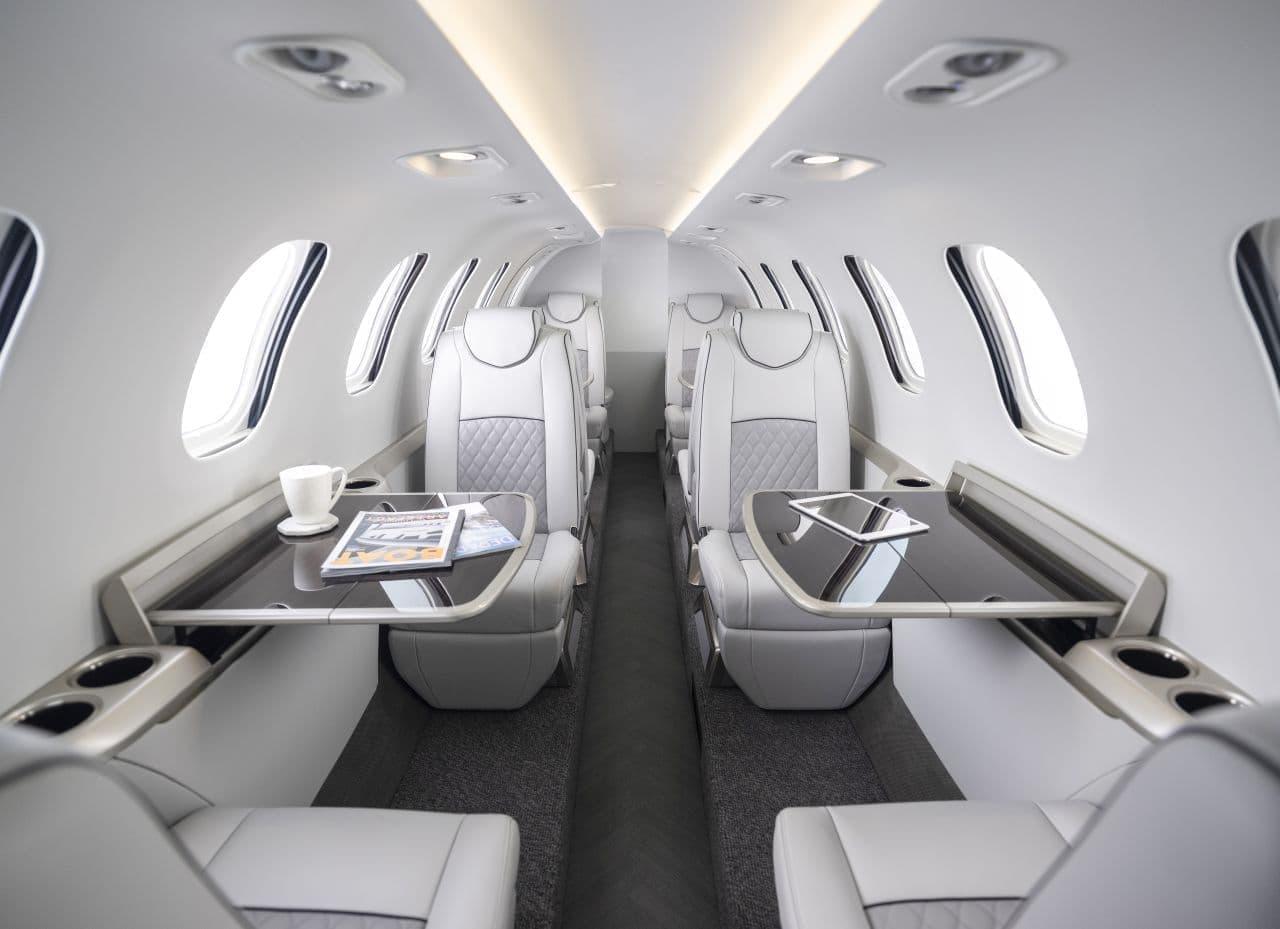 ホンダがアメリカ大陸横断が可能な小型ビジネスジェットのコンセプト機「HondaJet 2600 Concept」をNBAA 2021に参考展示