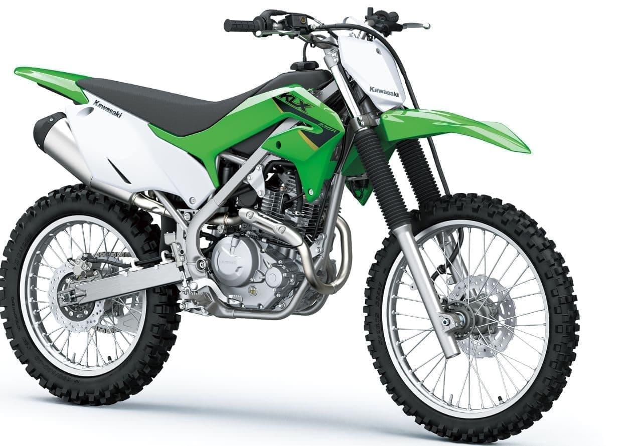 カワサキからオフロードモデル「KLX230R S」登場