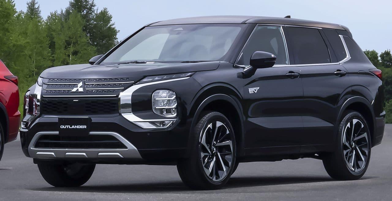 三菱自動車が新型「アウトランダー」PHEVモデルの内外装デザインを公開